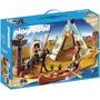 Retromex Playmobil 4012 Campamento Indio Viejo Oeste