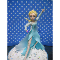 Frozen (elsa En Porcelana Fria De 17 Cm Apox.)
