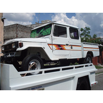 Toyota Bandeirante Cabine Dupla Depenada Nao E Jipe,4x4,jpx