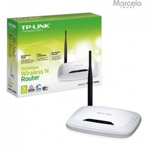 Roteador Tp-link 150mbps Wireless N 2.4 Ghz 4 Portas Lan
