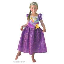 Disfraz Rapunzel Original Disney Store Talle S Giro Didáctic