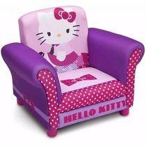 Sofa Sillon Infantil Hello Kitty Tapizado