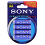 Pila Aa Sony Stamina Plus Blister X 4 Original 1.5v