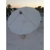 Antena Banda C Lnb C - 2 Mts. Desarmable. Excelente Calidad