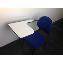 Cadeira Carteira Escolar Com Mesa Apoio Pra Braço E Livro Sp