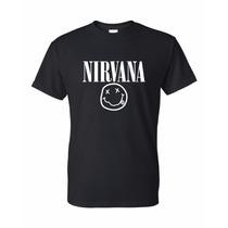 Remera De Nirvana + Calco