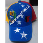 Gorra Tricolor 8 Estrellas 4f Excelente Calidad Oferta
