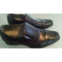 Zapatos Hombre Negros State Street Impo U. S. Made Oferta!
