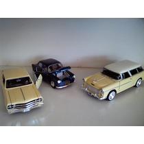 Mkb)kit Com 3 Carrinhos Miniaturas 1/24 ( Vc.monta Seu Kit )