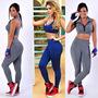 Calça Legging Fitness, Ginástica Academia ,roupas Femininas