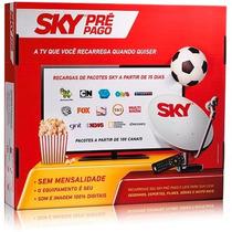 Sky Pre Pago Flex - Completo Kit Completo Antena 60cm