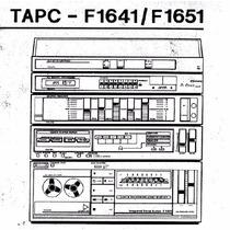 Esquema Elétrico Eletrônico 3 Em 1 Philips F1641 F1651 - Pdf
