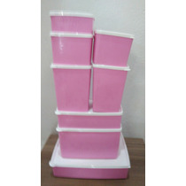 Jogo Conjunto De Tigelas Vasilhas Tupperware Linha Freezer
