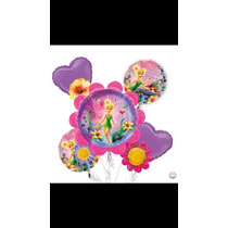 Kit Bouquet De Globos Tinkerbell Importado Party City Helio