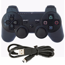 Controle Play 3 Colorido Wireless Sem Fio Playstation 3 Cabo