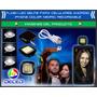 Led Flash Selfie Negro Recargable Telefonos Android Iphone