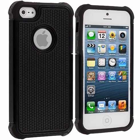 Funda protector de uso rudo para iphone 5 y 5s en mercado libre - Fundas iphone 5 divertidas ...