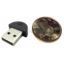 Mini Nano Microfone Usb Para Notebook E Pc