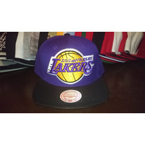 Gorra Mitchell And Ness Los Angeles Lakers Snapback