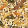 Loco Maíz Cocinado Pájaro Alimentos Fideos Tuercas 12oz