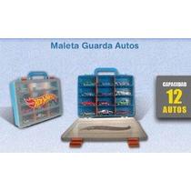 Hot Wheels Valija Maleta Guarda Autos 12 Unidades