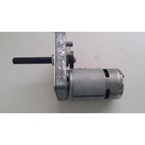 Motor Motorreductor 24v / 12v 150 Rpm / 75 Rpm