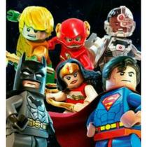Batman Vs Superman Coleção Completa Com 8 Heróis Lego
