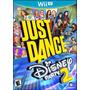 Juego Just Dance Disney Party2 Nintendo Wii U Original Nuevo