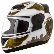Capacete Motociclista Pro Tork Fechado Evolution 3g Nos City