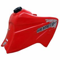 Tanque Plástico Tornado Vermelho - Pró 14,5 L / Gilimoto