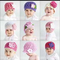 Gorros Tejidos Para Bebes