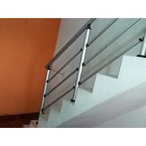 Kit Corrimao De Aluminio /escada Com Estalaçao /acima De 3m