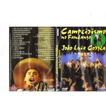 Dvd João Luiz Corrêa - Campeirismo No Fandango - Original