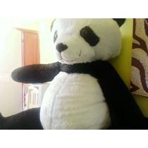Oso Panda Gigante De Peluche 2 Mts Altura Jumbo Super Regalo