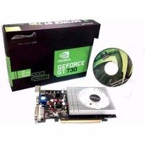 Placa De Vídeo Nvidia Geforce Gt 730 2gb 128 Bits Ddr3 Hdmi