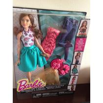 Boneca Barbie Teresa Fashion Mattel Frete Grátis