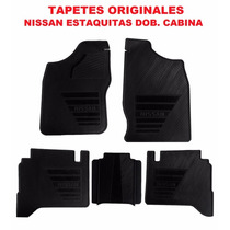 Tapetes Originales Nissan Pick Up Doble Cabina Envio Gratis!
