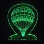 Abajur-luminaria - Acrilico Iluminado Com Led - Balão