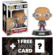 Star Wars Maz Kanata: Funko Pop X Vinilo Bobble Cabeza Figur