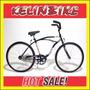 Bicicleta Playera Kelinbike R.24 Varón Negro Contrapedal