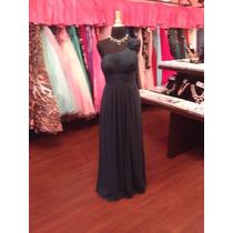 Vestido Fiesta Noche Alta Costura Dzage Talla 8 $320 Dlls