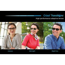 Transitions Crizal Alize Uv. Doble Certificado De Auténtico