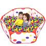 Piscina Bolas Multicolores Portatil Hexagonal