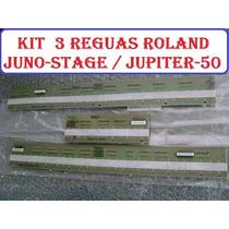 Kit 3 Réguas Teclado Roland Juno Stage Roland Jupiter 50