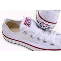 Zapatillas Converse All Star Color Blanco Hombre Mujer Niño