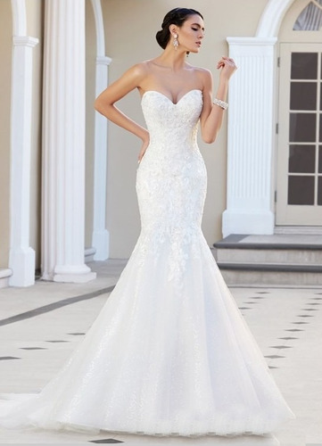 Vestido de novia tipo sirena 2016