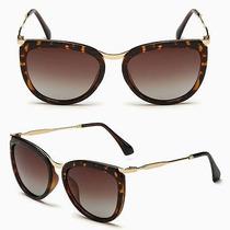 Óculos Polarizado Hd Moderno Atual Moda Fashion Feminino