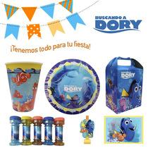 Buscando A Dory * Nemo - Dulceros, Desechables - Fiesta!