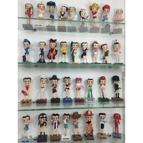 Coleção Com 60 Bonecas Miniaturas Betty Boop - Salvat