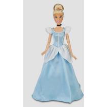 Vestido Princesa Disney Cinderela Pra Boneca Barbie + Coroa